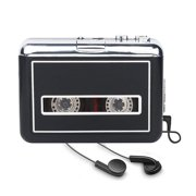 Portable Cassette Player Converter, Convert Tapes to Digital MP3 Walkman with New Upgrade Convenient Software (AudioLAVA)