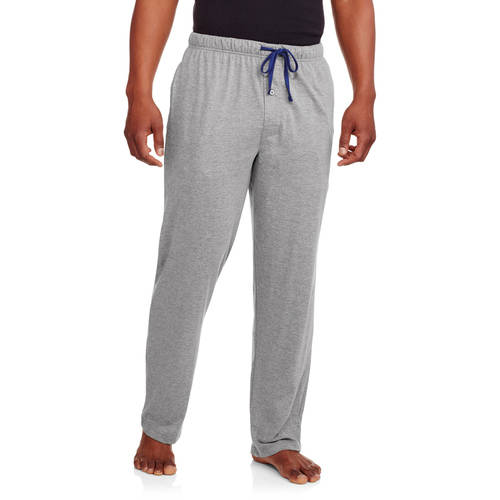 Men's Big X - Temp Solid Knit Sleep Pant with Hanes Logo Inside Elastic