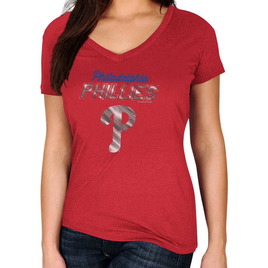 MLB Philadelphia Phillies Plus Size Women's Basic Tee