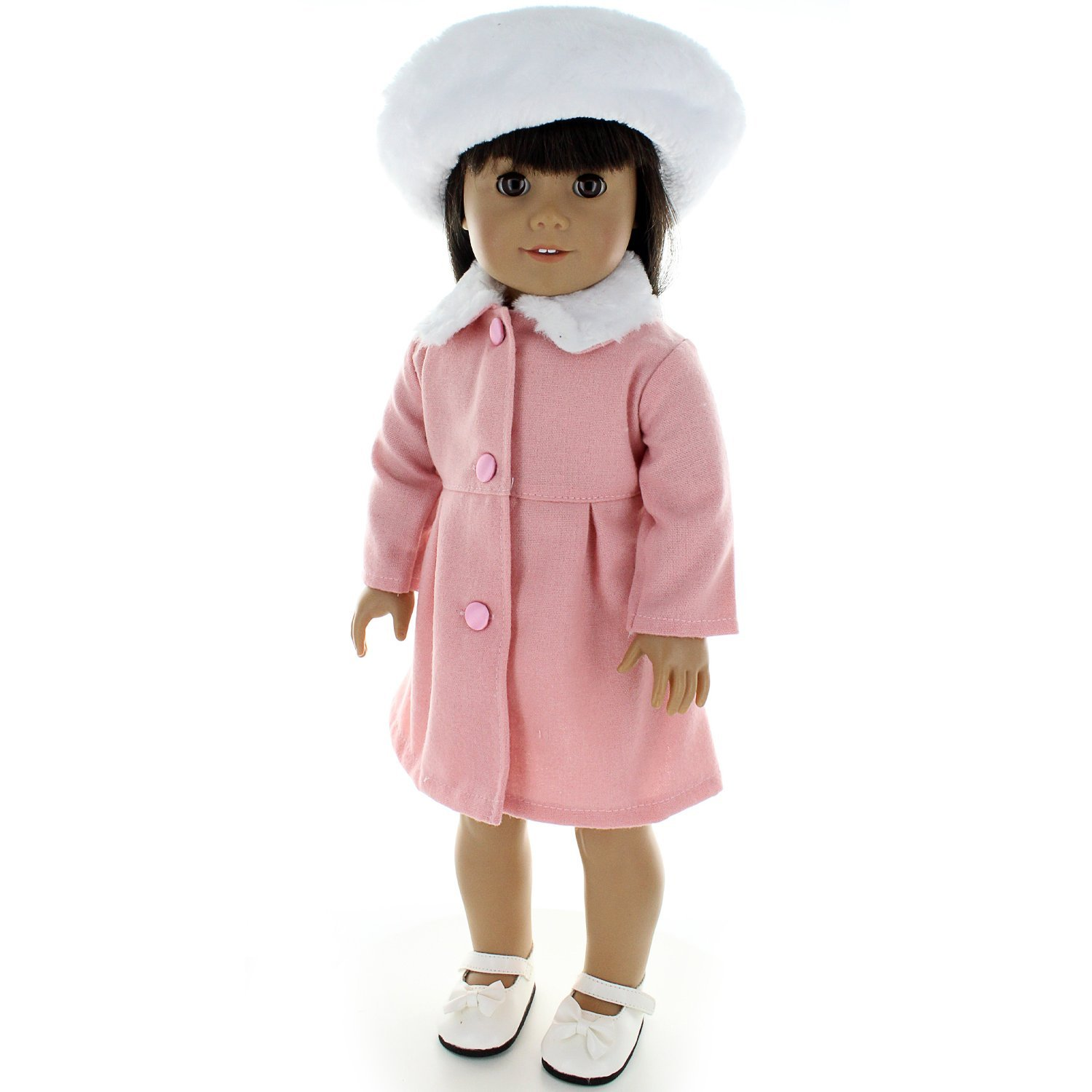 Doll Clothes J Kennedy Outfit Dress Fits American Girl & Other 18 Inch Dolls by Pink Butterfly Closet