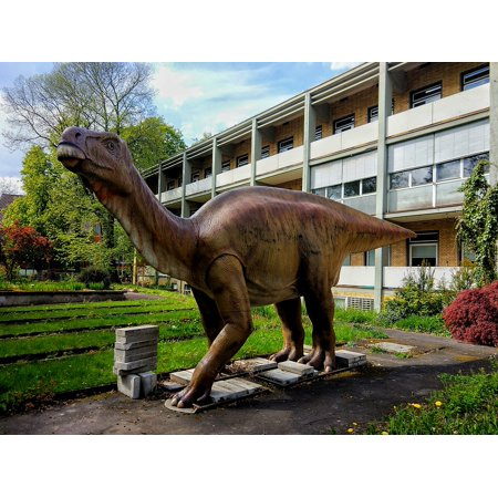 LAMINATED POSTER Figure Dino Dinosaur Meadow Casting Statue Poster Print 24 x 36