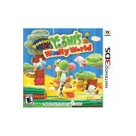 Poochy & Yoshi Woolly World, Nintendo, Nintendo 3DS, 045496744519