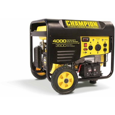 Champion Power Equipment Model 46565, 3500/4000 Watt Remote Start Portable Gas-Powered Generator (Not For Sale in California)