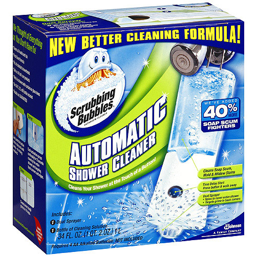 Scrubbing Bubbles Automatic Shower Bathroom Cleaner, 34 fl oz