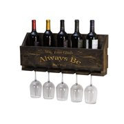 "Le Luxe Engraved ""Always Be"" Wine Rack by Del Hutson Designs"