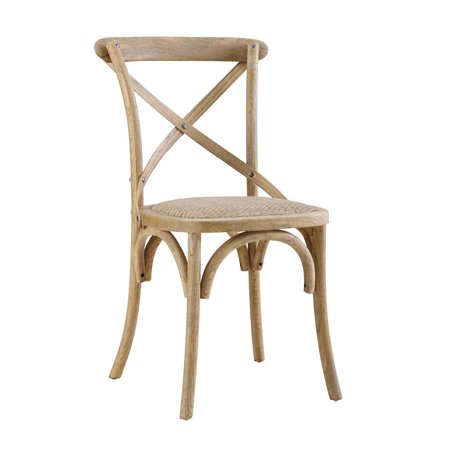 Diff Set Assembled - Linon Bentwood Chairs, Set of 2, 18.5 inch Seat Height, Assembled