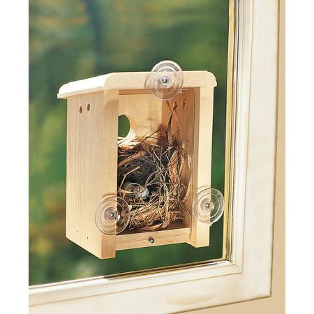 Coveside 10010 Window Nest Box Birdhouse - Owl Nest Box