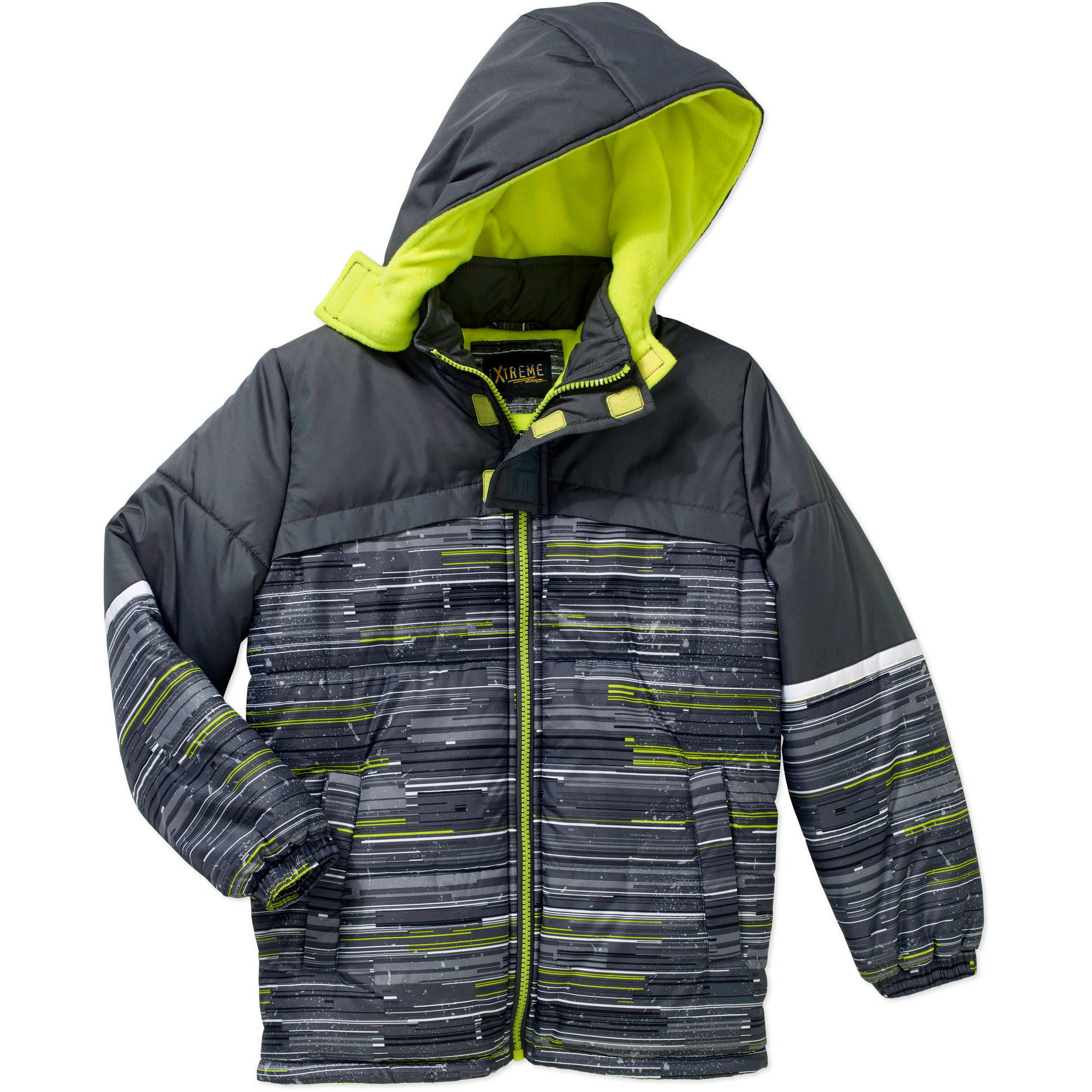 iXtreme Boys Puffer Jacket, Available in 4 Designs 11 Colors