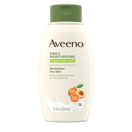 Aveeno Daily Moisturizing Yogurt Body Wash with Apricot, 12 fl. oz ()