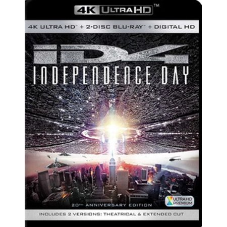 - Independence Day (4K Ultra HD)