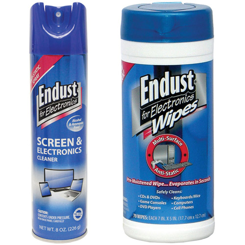 Endust 259000 Anti-Static Pop-Up Wipes Multi-Surface Electronics Cleaner
