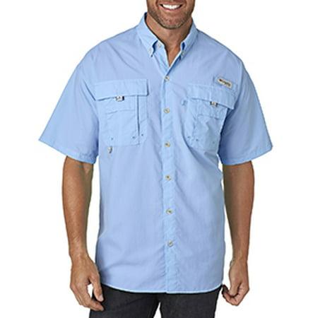 Colombia Tea (Columbia Men's Bahama™ II Short-Sleeve Shirt - SAIL - S 7047 )