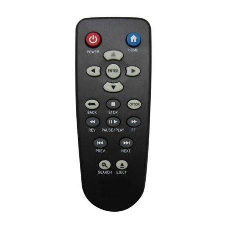 Nettech WD remote 3 Universal Replacement Remote Control Fit for WD Western Digital TV Live Hub Network Steaming Box HD Media Player (Western Digital Tv Live Hd)