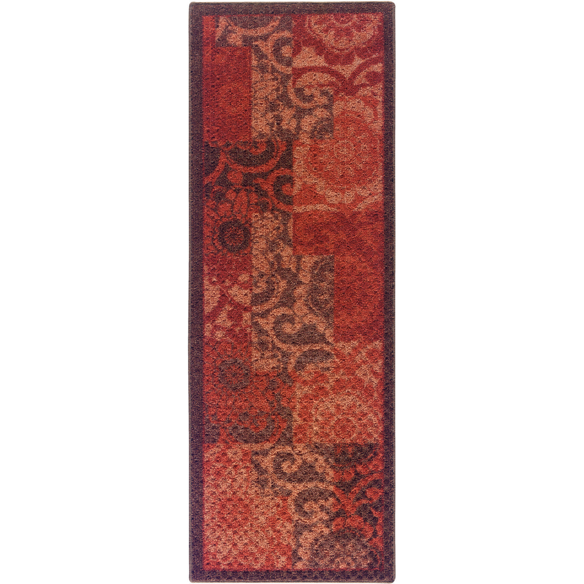 "Better Homes and Gardens Pretty Peony Textured Print Runner, 1'9"" x 5'"
