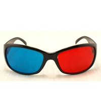 Polar Express 3D Glasses for 3D DVD-3 Pair, Plastic Extra upgrade Anaglyph, 3D GLASSES ONLY - no DVD. Our anaglyph glasses will work with the DVD/Blu-ray POLAR.., By 3D Glasses Direct