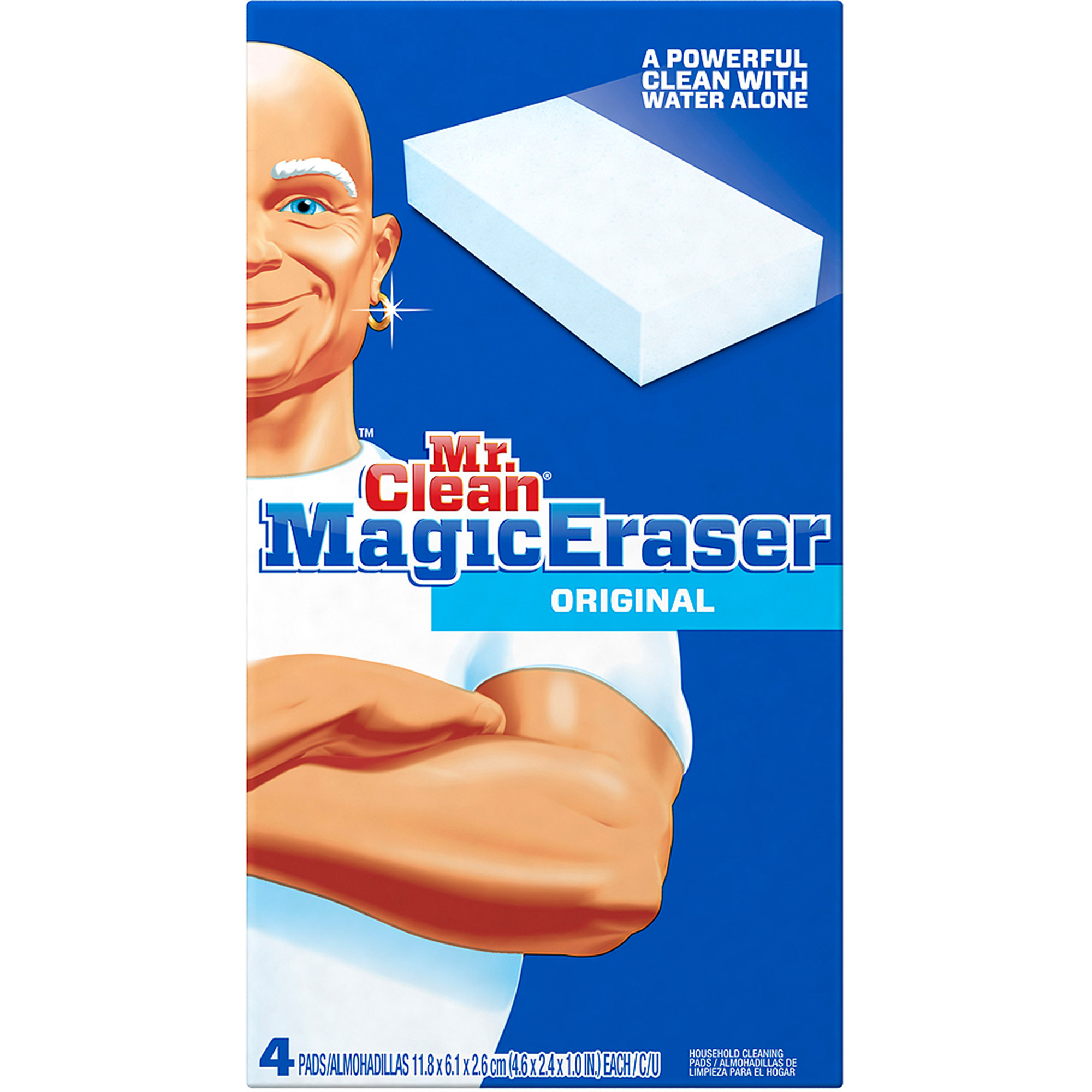 Mr Clean Magic Eraser Original, 4 count