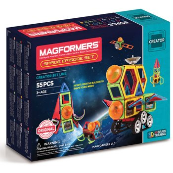 Magformers 03014 55 Piece Space Episode Set