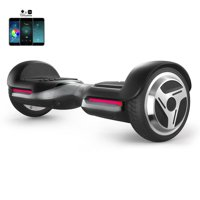 Premium Hoverboard Auto-Balancing Wheel with Bluetooth Speaker & LED Lights
