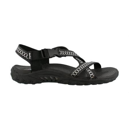 4a590bd60d95 Skechers 40876BKGY Women s Reggae - Kooky - Sandals - Walmart.com