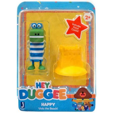 Hey Duggee Happy Visits The Beach Figure