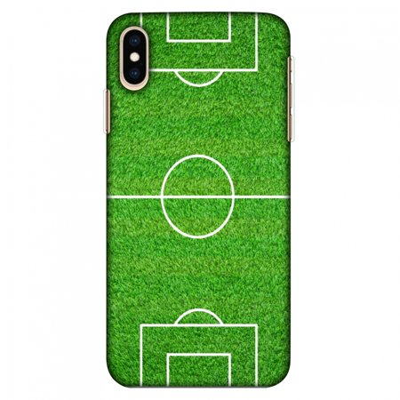iPhone Xs Max Case, Ultra Slim Case iPhone Xs Max Handcrafted Printed Hard Shell Back Protective Cover Designer iPhone Xs Max Case (2018) - Football - Love Football - Soccer