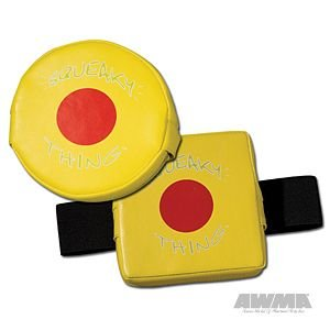 The Squeaky Thing Punch Target - Yellow (Round - Handheld) - image 1 of 1