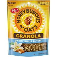 Post Honey Bunches of Oats, Granola, French Vanilla Almond, 11 Oz