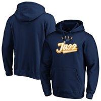 Men's Fanatics Branded Navy Utah Jazz Super Sweep Pullover Hoodie