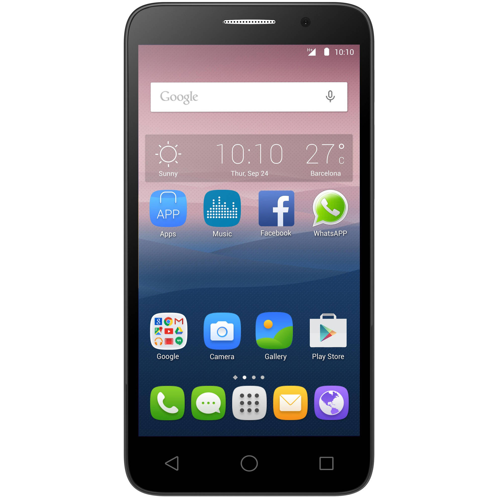 """Alcatel OneTouch Pop 3 5"""" GSM LTE Quad-Core Android Smartphone (Unlocked)"""