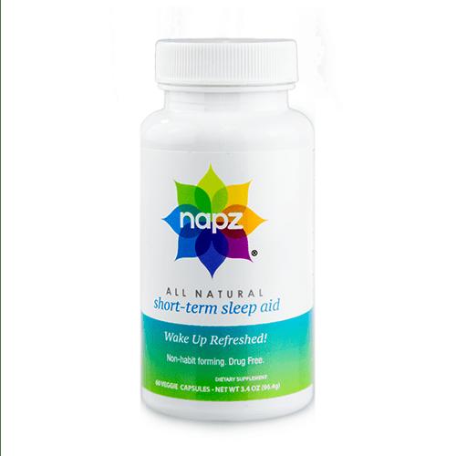 Napz All Natural, Herbal Sleep Aid Veggie Caps, 60ct
