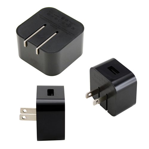 Black Universal Ac Usb Power Home Travel Wall Charger
