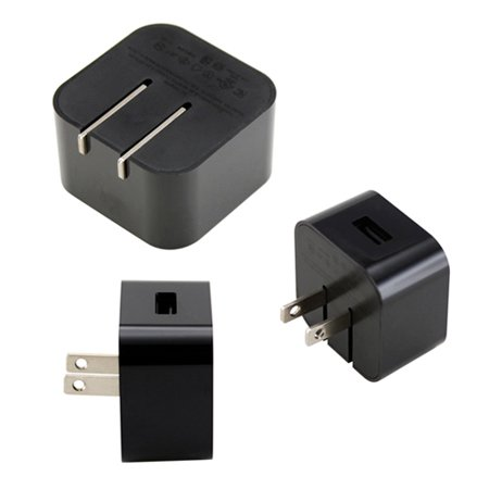 - Black Universal AC USB Power Home Travel Wall Charger Adapter for Amazon Kindle Fire HD Tablets