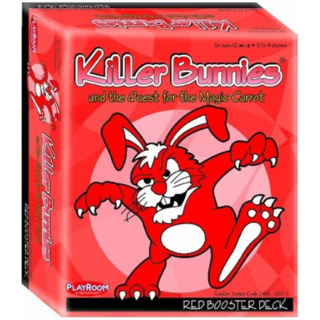- Playroom Entertainment Killer Bunnies Quest Red Booster Deck