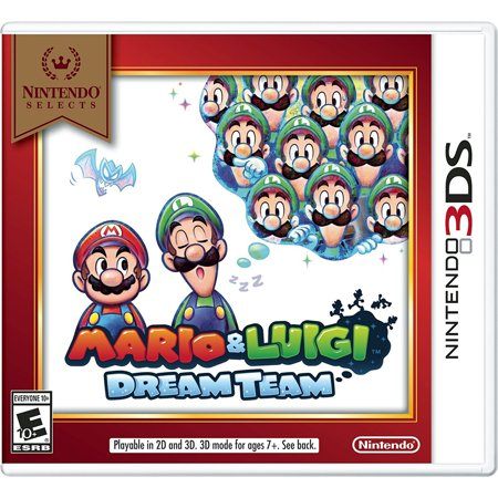 Mario & Luigi: Dream Team, Nintendo, Nintendo 3DS, [Digital Download], 0004549668021