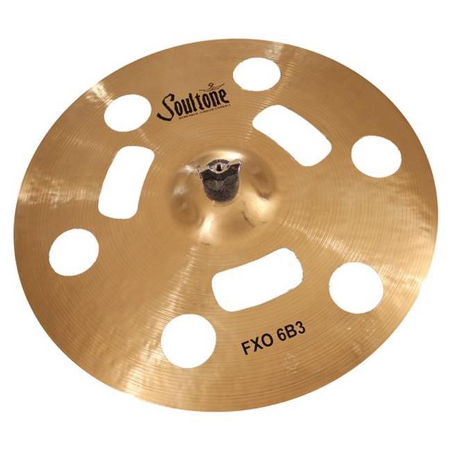 soultone cymbals f6b3-fxo23 23 in. fxo 6b3 effect crash