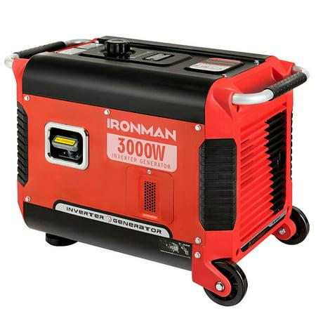 3000W Portable Inverter Gasoline Generator Ultra Quiet 4 Stroke Single Cylinder - image 5 of 10
