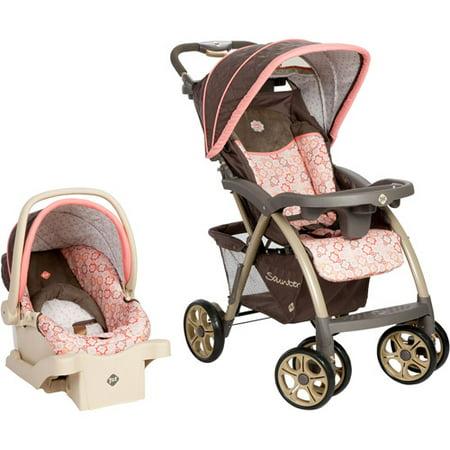 safety 1st saunter luxe stroller car seat travel system magnolia tr234bko. Black Bedroom Furniture Sets. Home Design Ideas