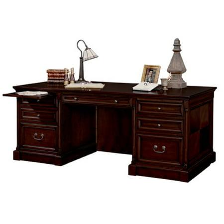 Martin Furniture Mount View Double Pedestal Executive Desk (Double Pedestal Steel Desk)