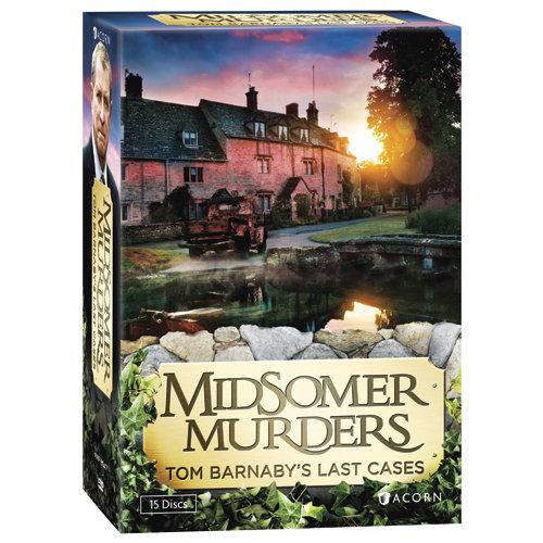 Midsomer Murders: Tom Barnaby's Last Cases (DVD) by RLJ/SPHE