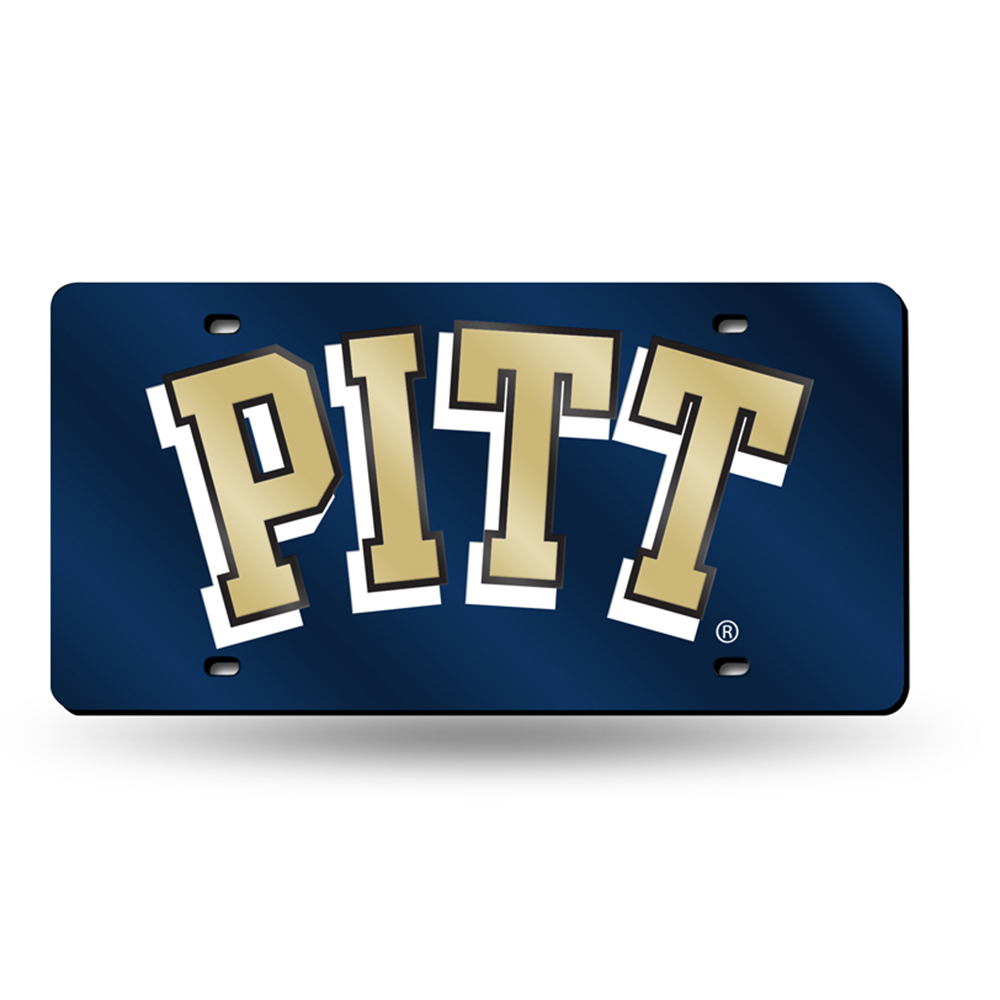 Pittsburgh Panthers NCAA Laser Cut License Plate Tag
