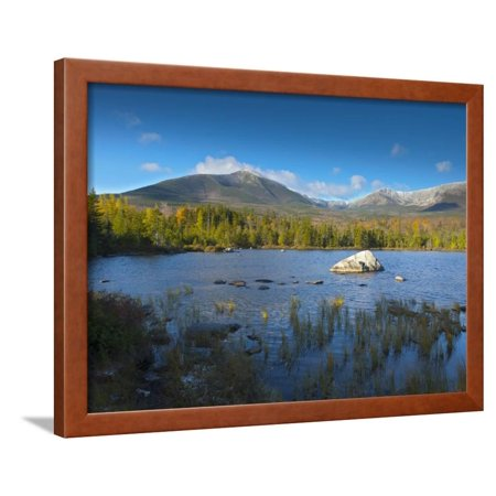 Sandy Stream Pond, Baxter State Park, Maine, New England, United States of America, North America Framed Print Wall Art By Alan Copson
