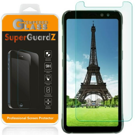 For Samsung Galaxy S8 ACTIVE [NOT For S8 / S8+] - SuperGuardZ Tempered Glass Screen Protector [Anti-Scratch, Anti-Bubble] + LED Stylus Pen