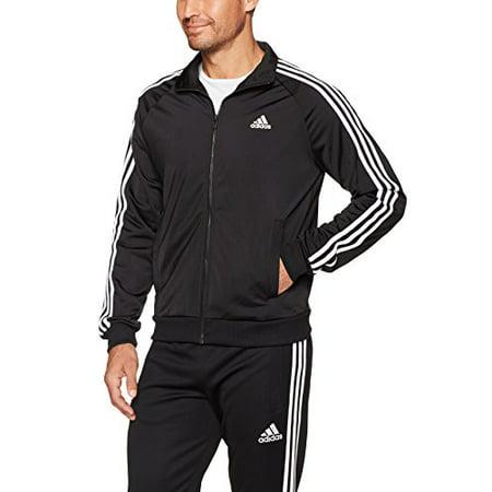 Adidas Essentials 3-Stripe Tricot Track Jacket - Mens