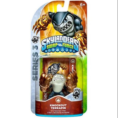 Skylanders Swap Force Knockout Terrafin S3 Character Pack (Universal)
