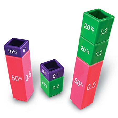 Learning Resources Fraction Tower Activity Set - image 1 of 4