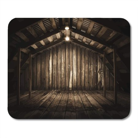 Vintage Floorboards - SIDONKU Vintage Brown Interior Wooden Room Old Floorboard Wall Rusty Mousepad Mouse Pad Mouse Mat 9x10 inch