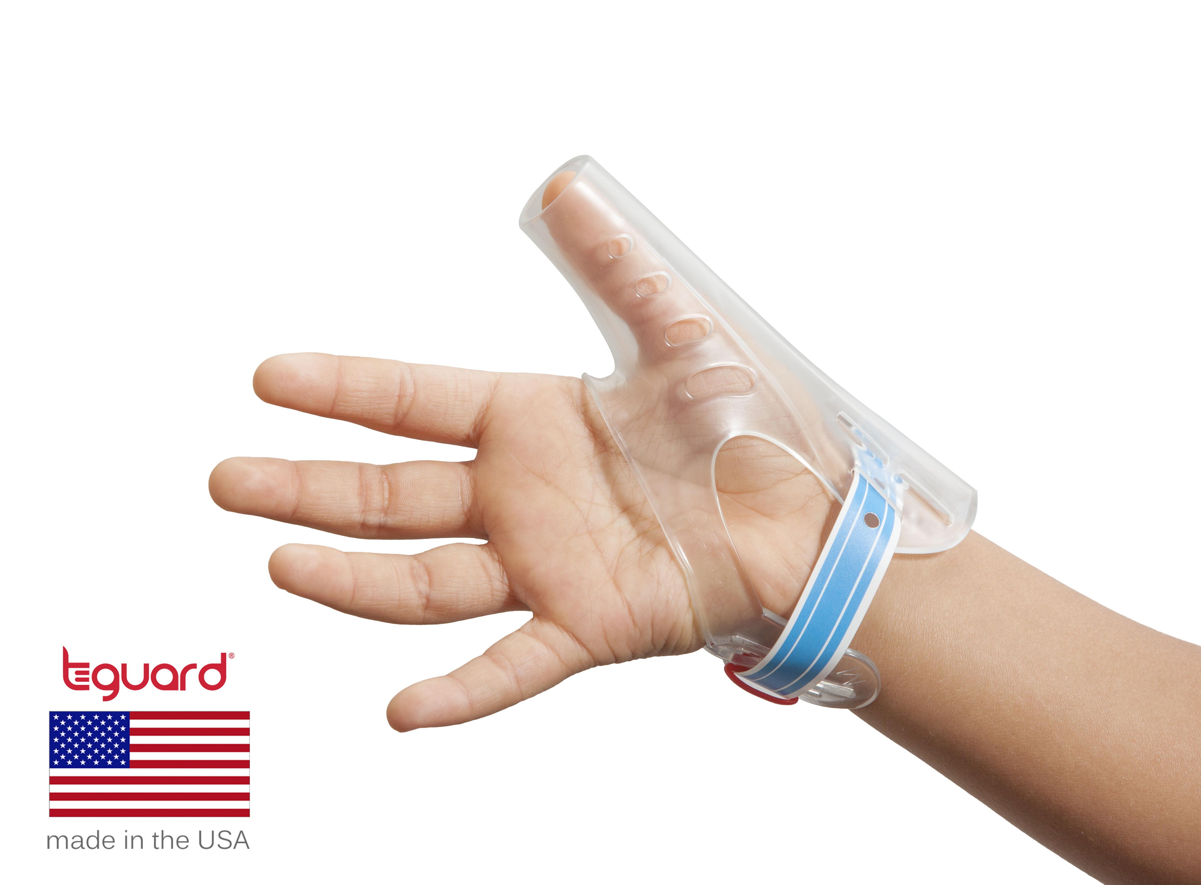 Stop Thumb Sucking Thumbguard And Fingerguard Instructional Photo
