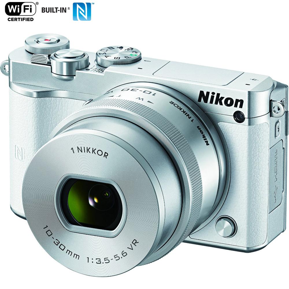 Nikon 1 J5 Digital Camera W/ Nikkor 10-30MM F/3.5-5.6 PD ...