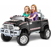 KidTrax Ram 3500 Dually Longhorn Edition 12-Volt Battery-Powered Ride-On
