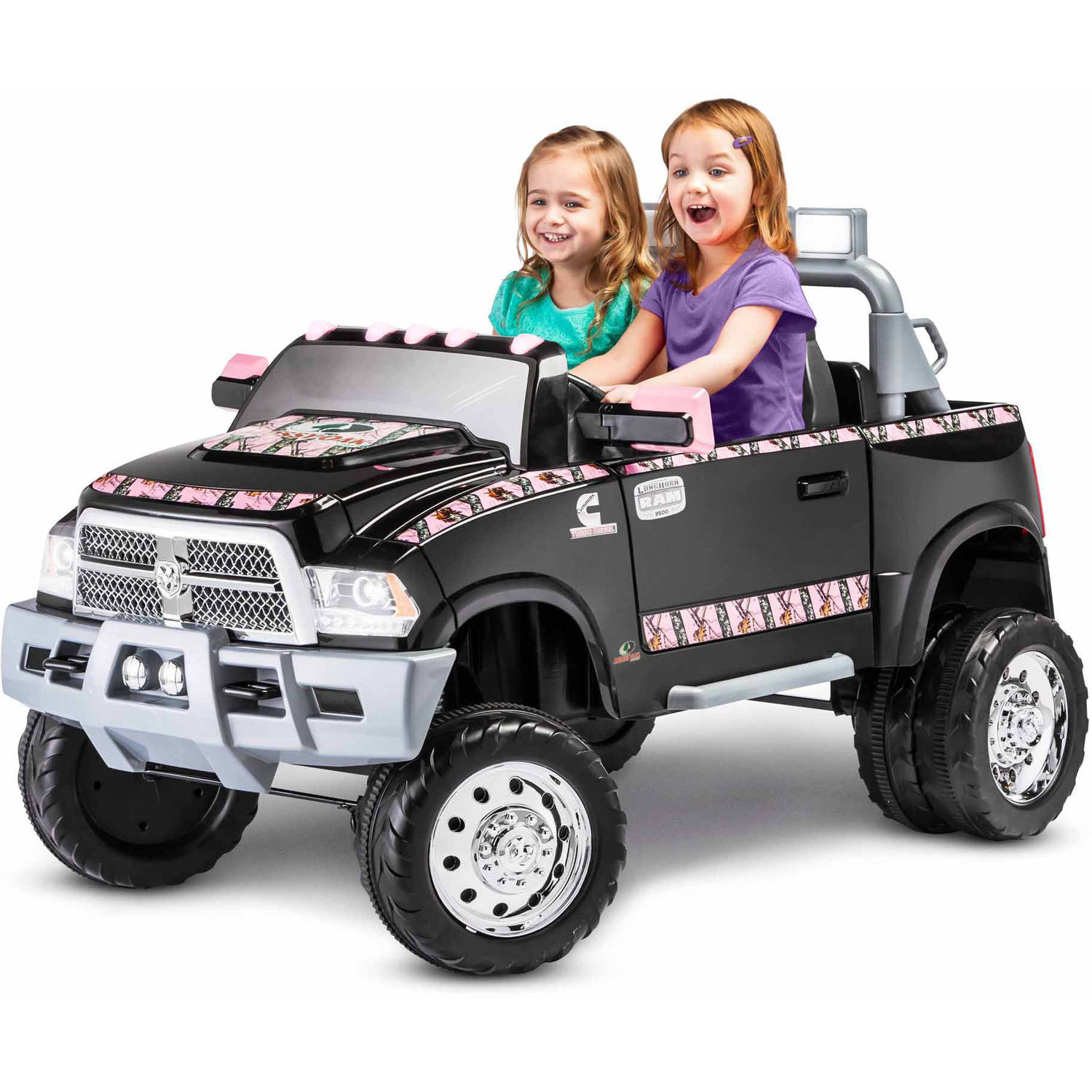 Kid Trax Ram 3500 Dually Longhorn Edition 12-Volt Battery-Powered Ride-On